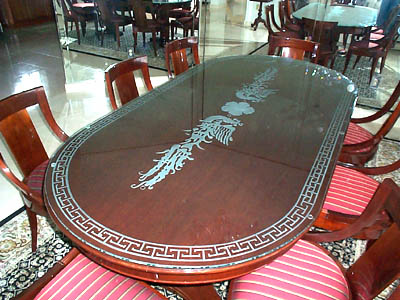 Table Glass Design outstanding serene rectangular clear glass dining table design white rugs and white wall amazing modern style Table Top Glass