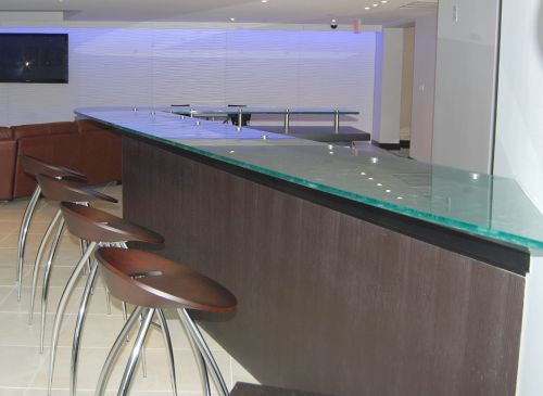 Great Glass Counter Top