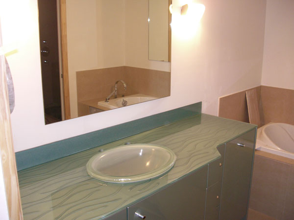 Glass Vanity Tops Category Artistry In Glass