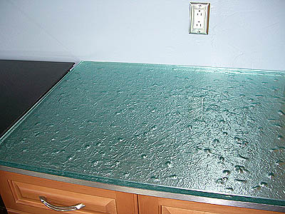 Textured Glass For Kitchen Counter Top The Rodr Guez Residence Key