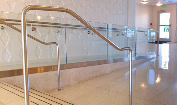 Ada Compliant Railings Artistry In Glass