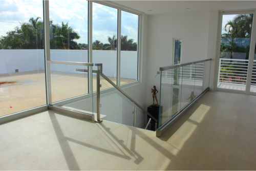 Glass railings category artistry in