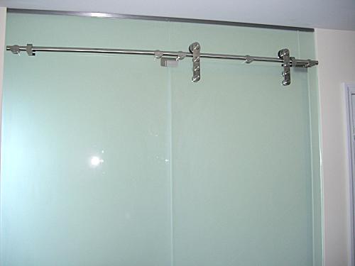 Barn Style Sliding Door Artistry In Glass