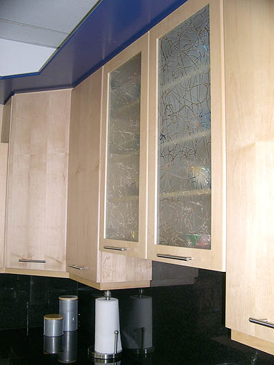 Kitchen Cabinet Glass Artistry In Glass